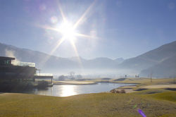 [Translate to English:] Golfen im Zillertal